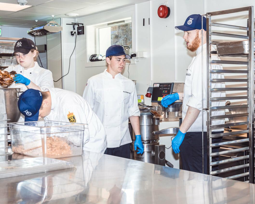 – Soldater i dag har utvilsomt blitt mer opptatt av maten de får servert