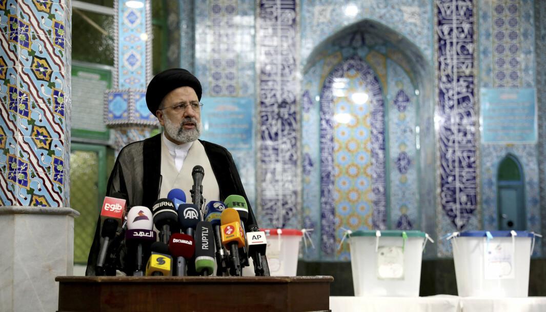 VALGT: Israel sier at Ebrahim Raisis valgseier i Iran bør bekymre det internasjonale samfunnet, fordi Raisi angivelig har forpliktet seg til å utvikle landets atomprogram.