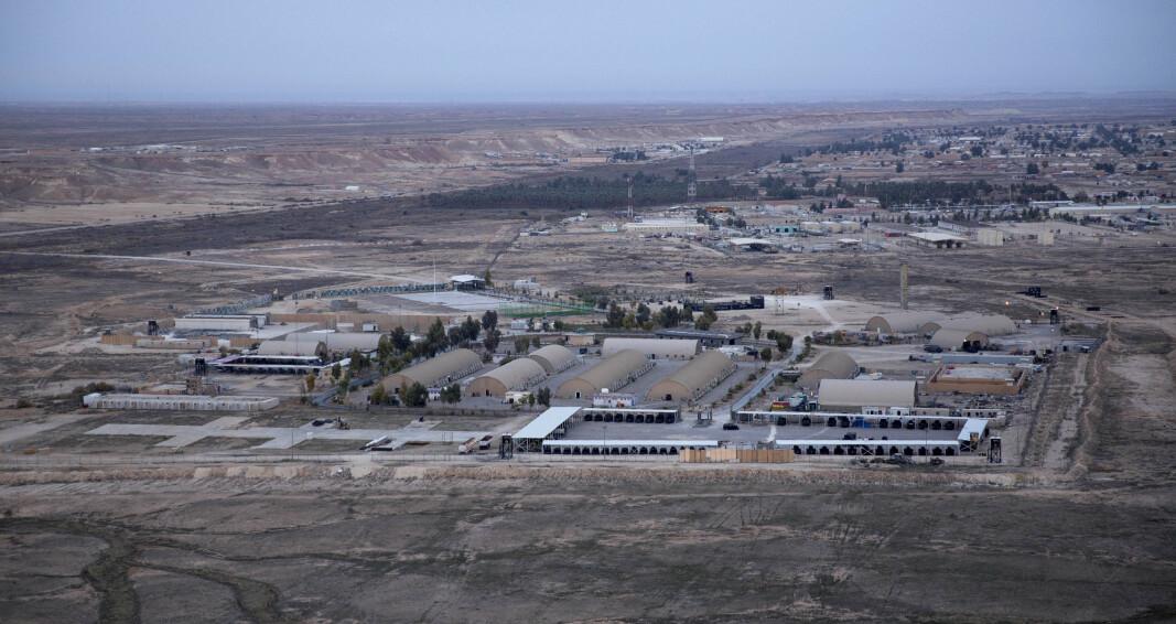IRAK: I flybasen Ain al-Asad befinner det seg norske soldater.