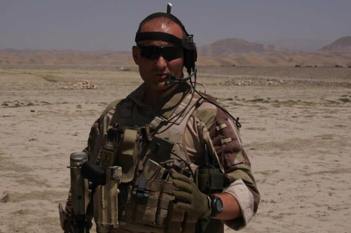 LANG ERFARING: Kristian Simonsen har tjenestegjort i Afghanistan, Libanon, Bosnia, Kosovo og Georgia.