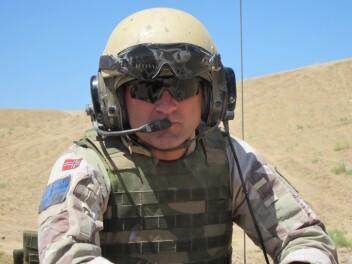 AFGHANISTAN: Kristian Simonsen har blant annet vært kompanisjef for Telemark bataljon i Afghanistan.
