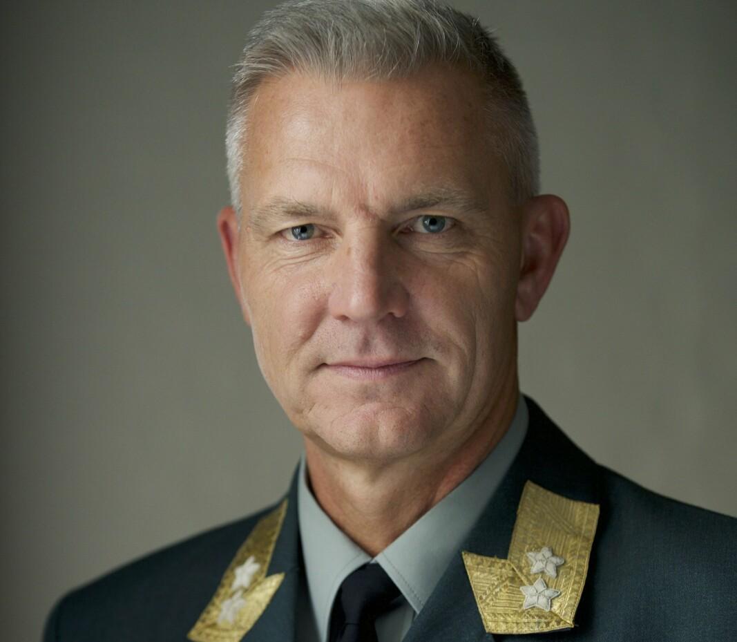 NY FORSVARSATTACHÉ: Generalmajor Odd-Harald Hagen overtar som ny forsvarsattaché i USA 1.august.
