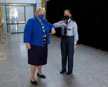 Vernepliktig Sara (19) deltok på Nato-toppmøte