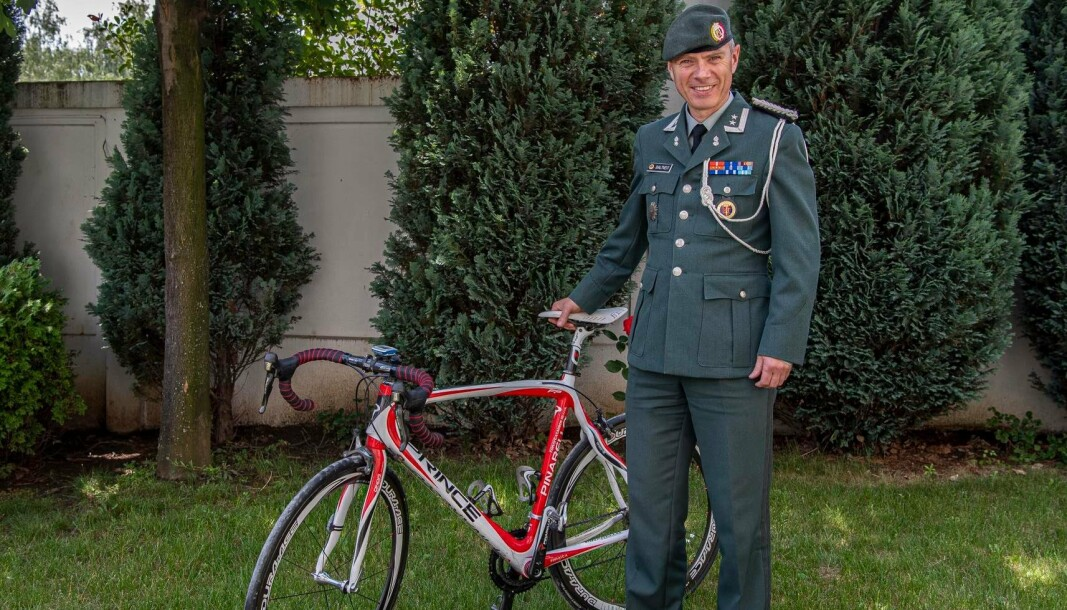 BEOGRAD: Egil Daltveit er norsk Forsvarsattaché i Beograd, med ansvar for landa på Balken.