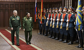 Myanmar takker Russland for våpen