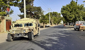 Taliban tar kontroll over viktig grenseovergang