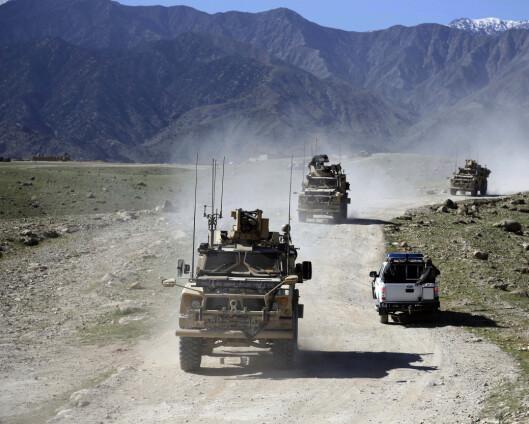 Danmark helt ute av Afghanistan