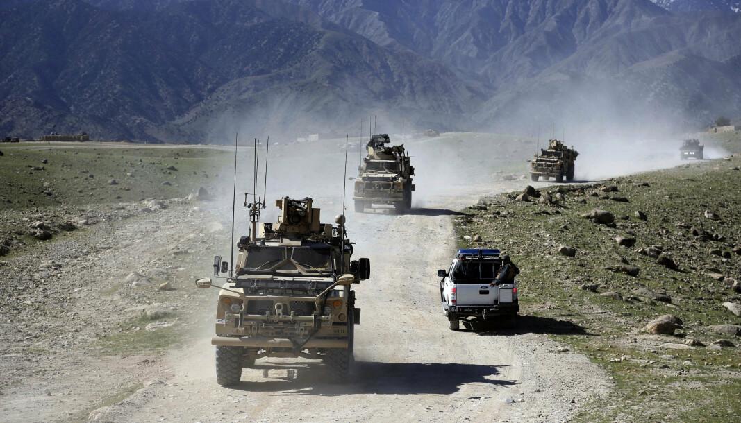 AFGHANISTAN: Danmark trekker seg ut etter nesten 20 år i Afghanistan. Bildet er tatt fra en tidligere operasjon i landet.