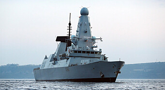 Russland: Varselskudd avfyrt mot britisk marinefartøy i Svartehavet