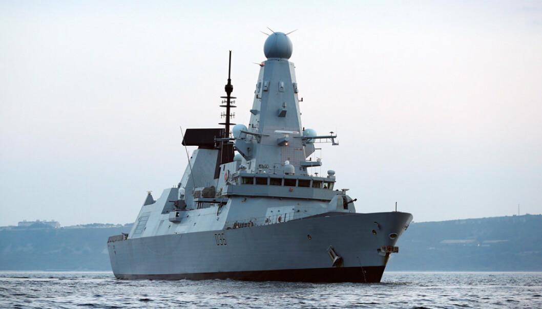 Det britiske fartøyet HMS Defender har den siste tiden seilt i Svartehavet.