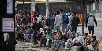 Over 40 drept i flyangrep mot marked i Tigray