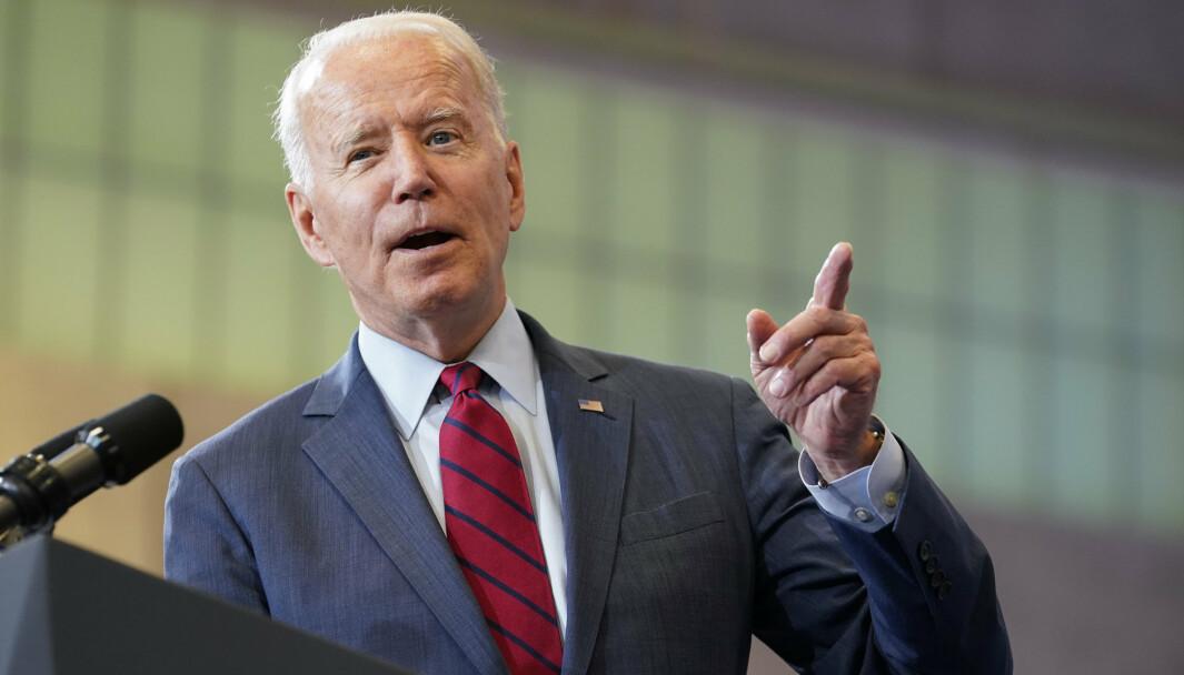 LØFTE: USAs president Joe Biden lover at ingen afghanske tolker som har hjulpet det amerikanske militæret, vil etterlates når amerikanerne fullfører tilbaketrekkingen.