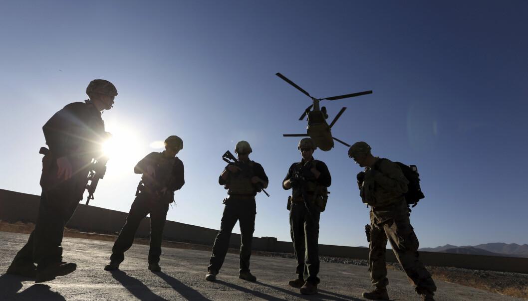 BLIR VÆRENDE: USA lar trolig rundt 650 soldater bli værende i Afghanistan. De skal sørge for sikkerheten til de amerikanske diplomatene i landet, opplyser kilder til nyhetsbyrået AP.
