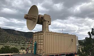 Det amerikanske forsvaret tester mikrobølge-våpen mot dronesvermer