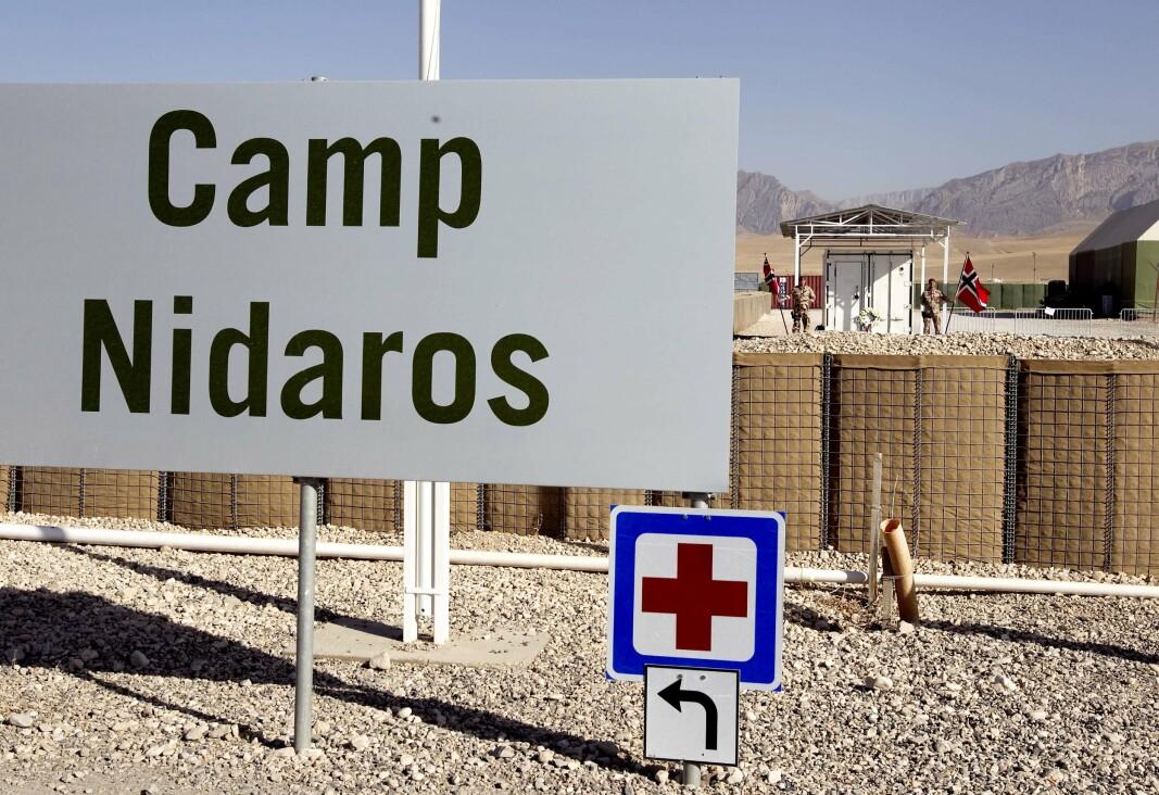 MAZAR-E SHARIF: Fra 2006 til 2014 hadde en norsk styrke base i Camp Nidaros i Mazar-e Sharif.