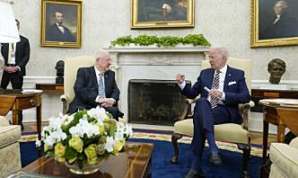 Biden lover at han ikke vil la Iran få atomvåpen