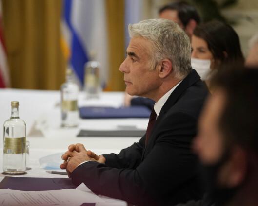 Israels utenriksminister på historisk besøk til Emiratene
