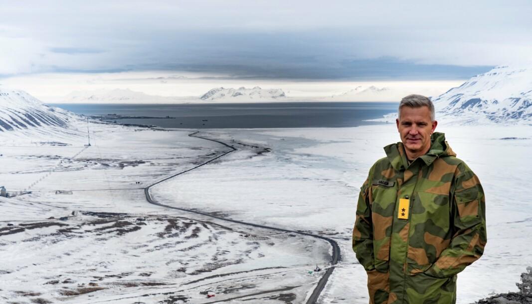 FORSVARSATTACHÉ: Generalmajor Odd-Harald Hagen gleder seg til sin nye jobb som forsvarsattache til USA og Canada.