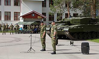 Lars Jansen tok over som sjef for Panserbataljonen