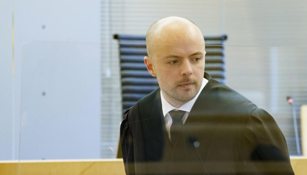 UENIG: Forsvarer Andreas Berg Fevang sier at gutten er fornøyd med at straffen ble lavere enn aktors påstand. Forsvarstemaet er derimot uenig i rettens vurdering av skyldspørsmålet.
