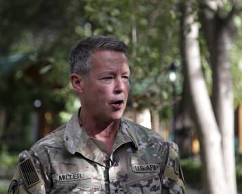 USAs øverstkommanderende i Afghanistan frykter borgerkrig