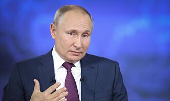 Putin hevder Ukraina er kontrollert av vestlige ledere