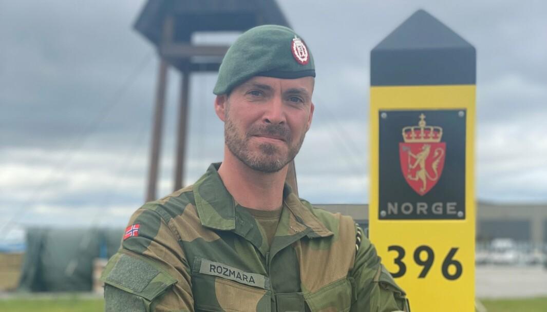 SJEF: Michael Spanne Rozmara er sjef for Garnisonen Sør-Varanger.