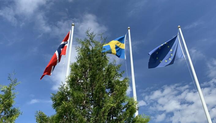 NORGE: I motsetning til Sverige, har Norge en nasjonal strategi overfor det europeiske forsvarsfondet, mener Pål Jonson.