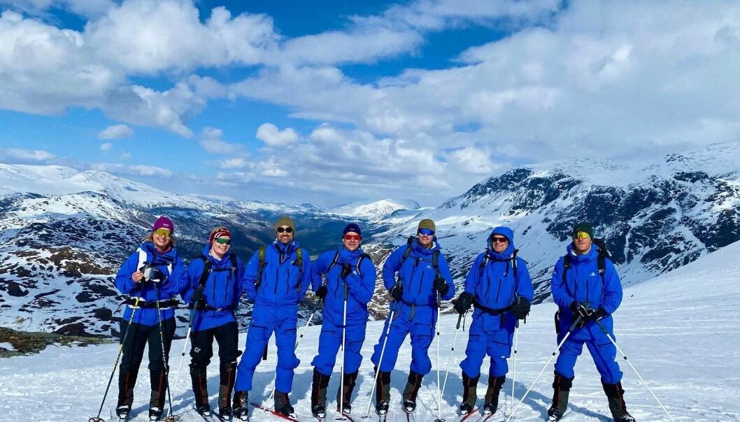 Deltakerne i Grønlandsekspedisjonen er nå i innspurten med trening og planlegging før avreise.
