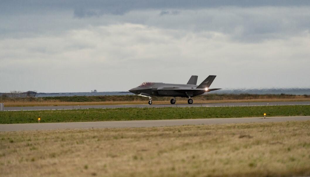 KAMPFLY: Sveits' regjering vil kjøpe 36 F-35-fly.
