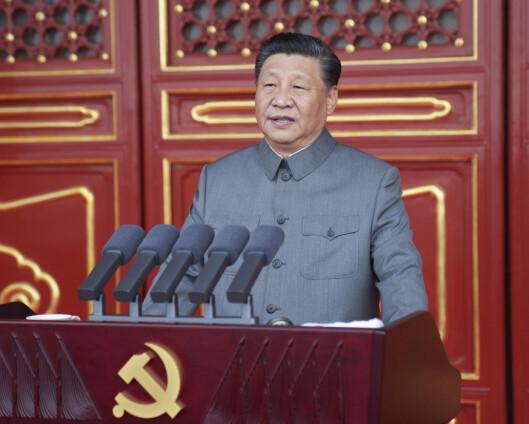 Xi langet ut mot utenlandsk kritikk under 100-årsjubileet for Kommunistpartiet