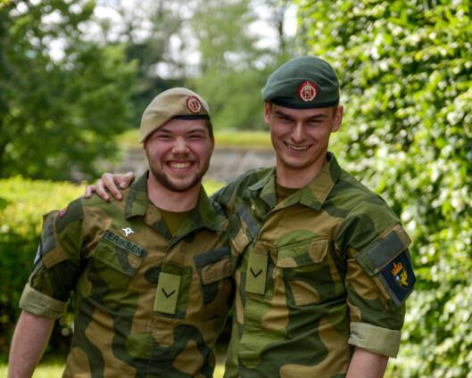 En av TVOs nye landstillitsvalgte delte badstue med tyske spesialstyrker på Porsangmoen