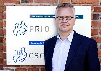 FREDSFORSKER: Kristian Berg Harpviken ved fredsforskningsinstituttet Prio.
