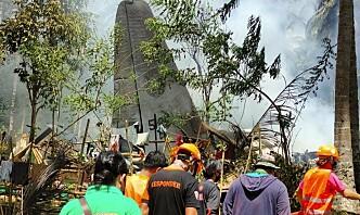 50 omkom i flyulykken på Filippinene