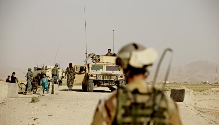 VIKTIG JOBB: Robert Mood mener at afghanske ansatte gjorde en viktig jobb for norske styrker i Afghanistan.