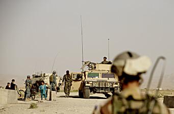 Taliban sier de kontrollerer 85 prosent av Afghanistan