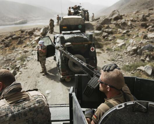 Afghanske Bundeswehr-hjelpere har ankommet Tyskland for asyl