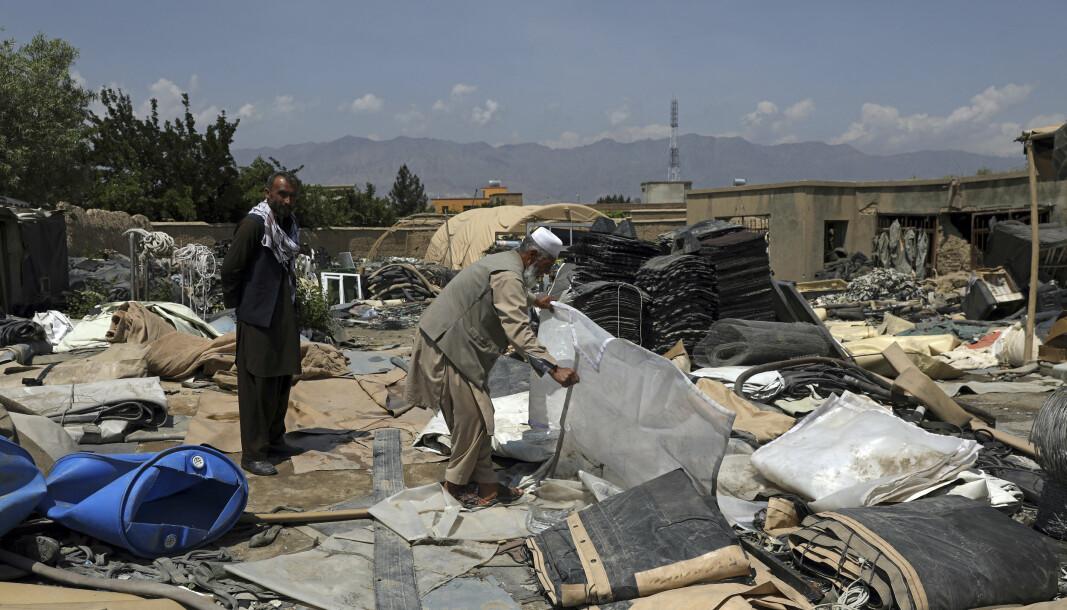 GULL: Her leter afghanerne etter gull nå som amerikanerne trekker seg ut.