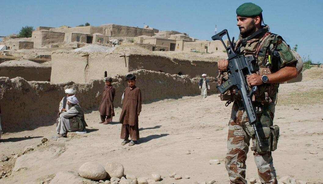 BADGHIS: Taliban angriper hovedstaden Qala-i-Naw i provinsen Badghis. Her er en spansk Nato-soldat i Badghis i 2007.