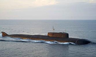Russiske atomubåter seiler gjennom dansk farvann