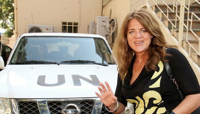 FN-SJEF: Hilde Frafjord Johnson var sjef for FN-styrken i Sør-Sudan (UNMISS) fra 2011 til 2014.