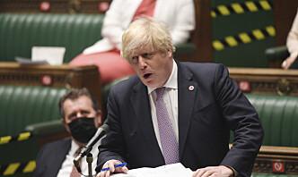 Johnson: Nesten alle britiske soldater er ute av Afghanistan