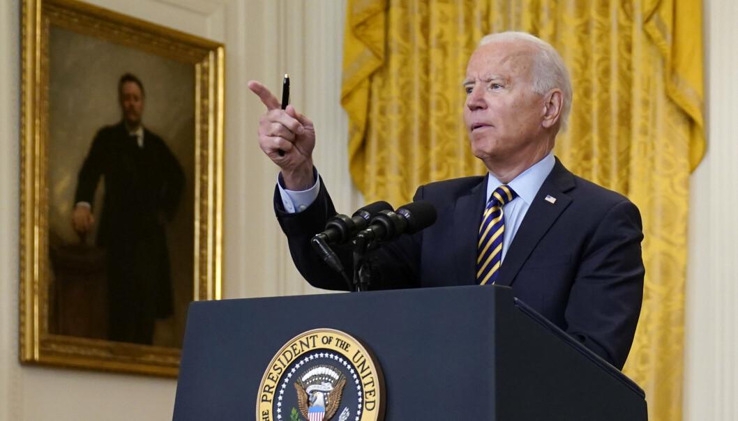AFGHANISTAN: – Jeg stoler ikke på Taliban, men jeg stoler på kapasiteten til den afghanske hæren, sa president Biden på torsdag.
