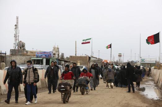 Taliban har erobret viktig grenseovergang til Iran