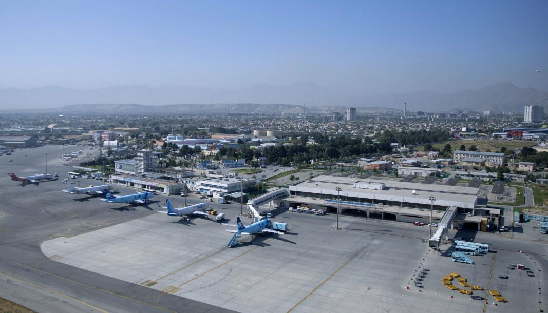 ANTIMISSIL: Afghanske myndigheter sier de har fått på plass et nytt system på flyplassen i Kabul som skal stanse eventuelle missilangrep.