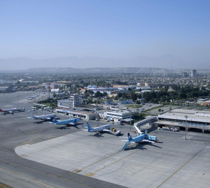 Afghanistan har installert antimissil-system på flyplassen i Kabul