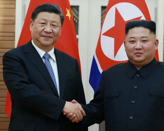 Nord-Korea og Kina ønsker sterkere bånd