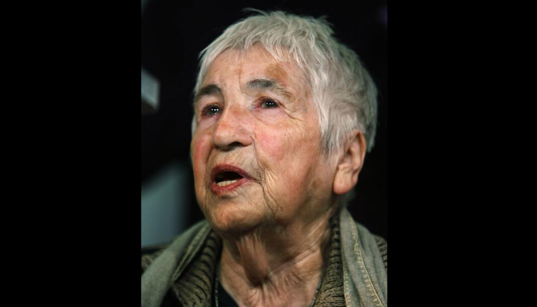 96 ÅR GAMMEL: Den kjente Auschwitz-overlevende Esther Bejarano er død, 96 år gammel.