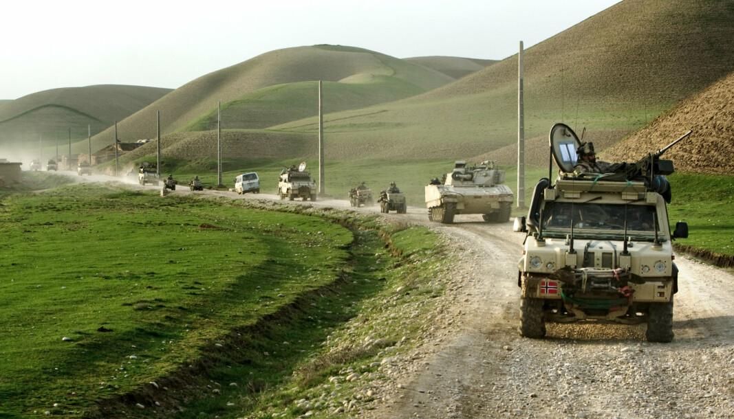 SAMARBEID: Norske og afghanske styrker gjennomfører operasjon Chashme Naw i 2010.