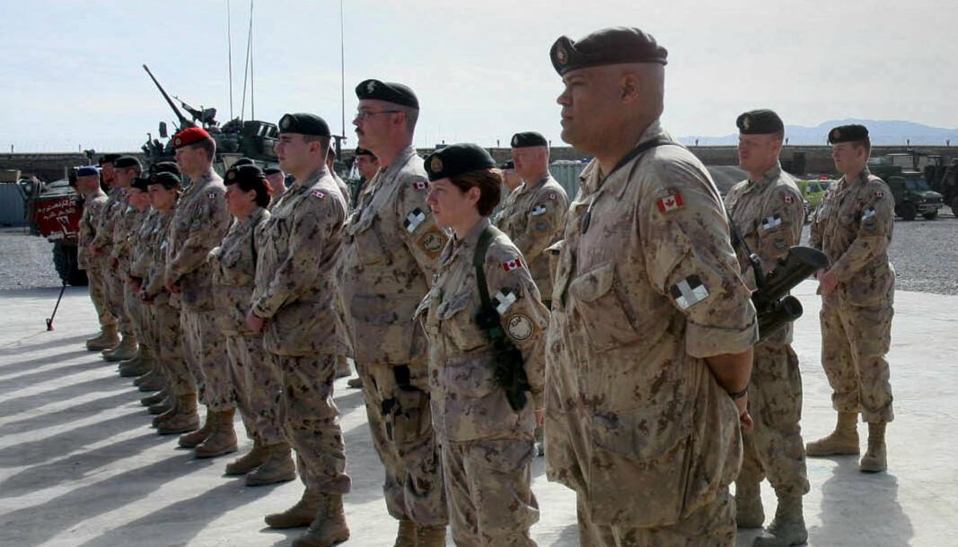 I AFGHANISTAN: Over 40 tusen canadiske soldater har tjenestegjort i Afghanistan fra 2001 til 2014.
